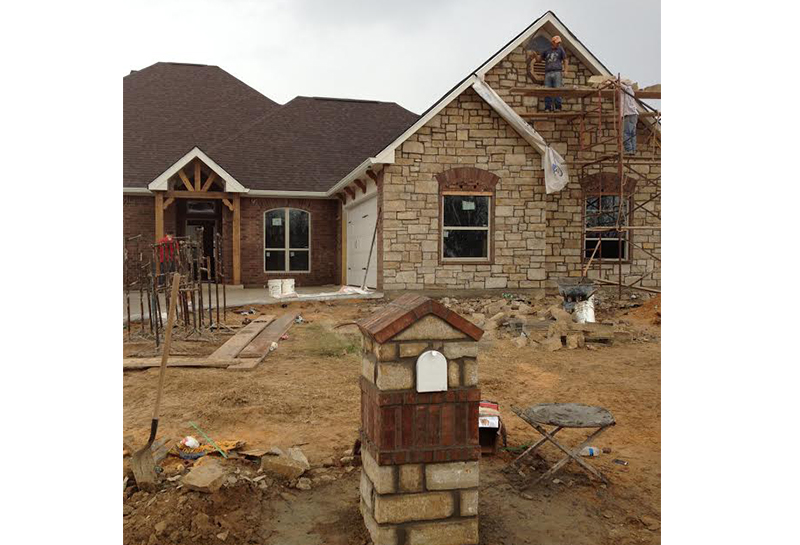 Home Builder Work in Longview and Mount Pleasant